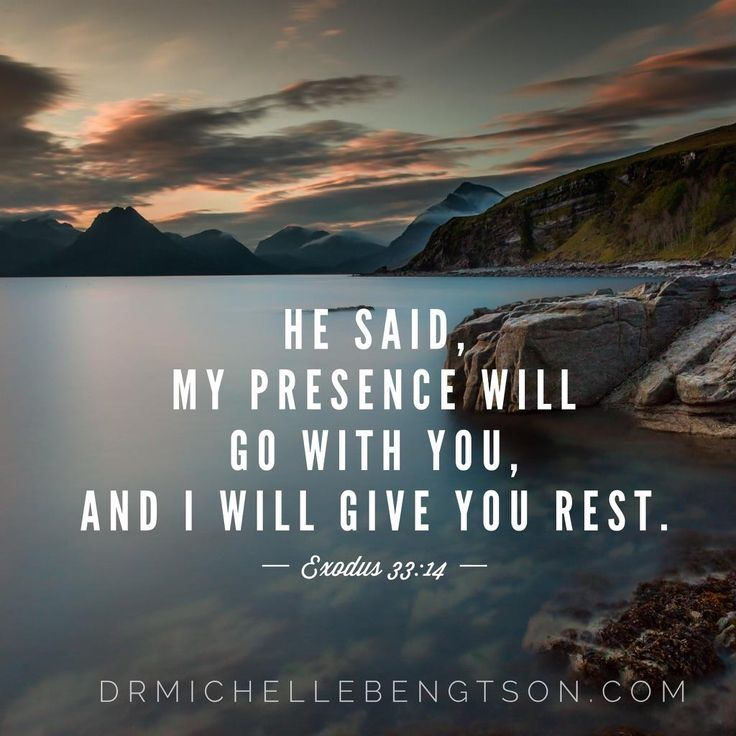 He said My presence will go with you, and I will give you rest. Exodus 33:14 #HopePrevails