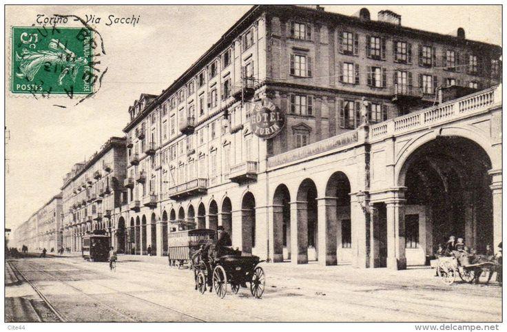 Torino. Via Sacchi (1911)