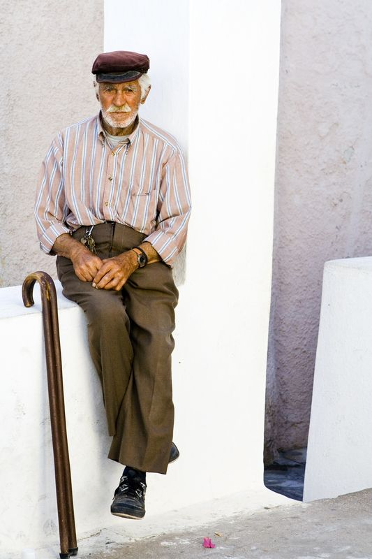 People of Santorini