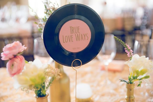 Editor's Weekly Wrap-Up: Music-Themed Decor, DIY Ombre Seashell Escort Cards, Unexpected Wedding Invitations, Glamorous Bouquets, And Recept...