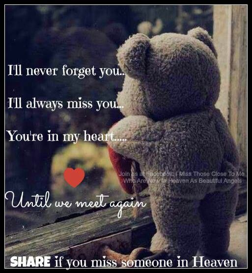 Miss You So Much.....Love You Forever