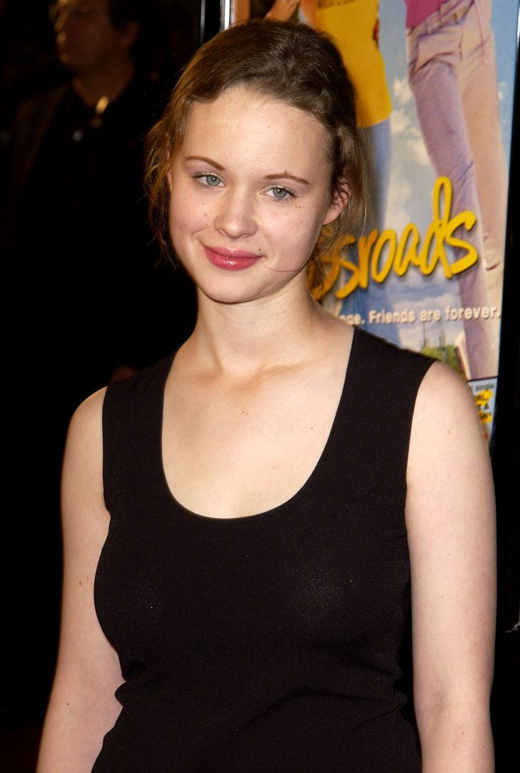 Pin for Later: The Crossroads Movie Premiere Was So Awesomely 2002 And Thora Birch walked the red carpet, too.