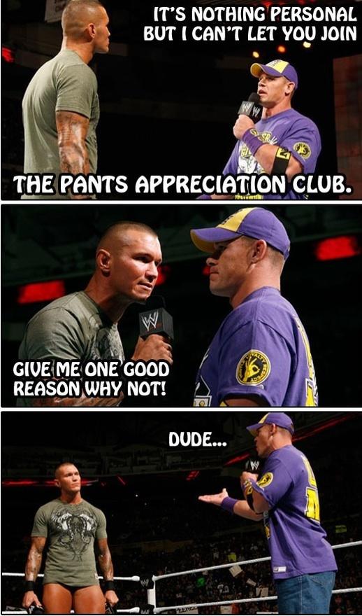 Funny Appreciation Meme : What about the jorts appreciation club wwe meme world
