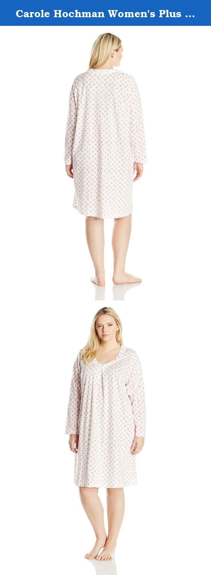 23280 best images about plus size nightgowns on pinterest Long cotton sleep shirts