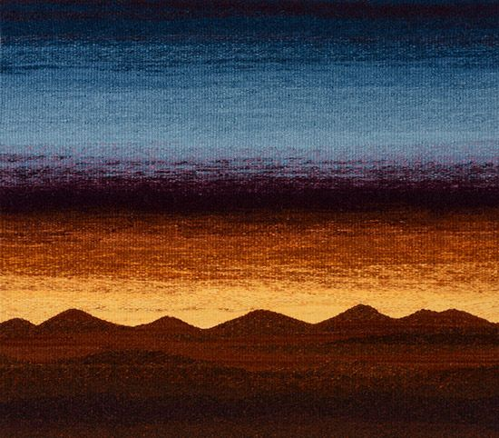 Tapestry Artist Linda Giesen: September Sunset