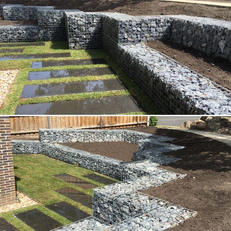 Gabion Wall VDB Gardens