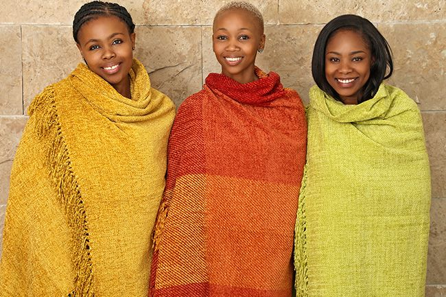 new range of sesli chenille throws that will brighten your day