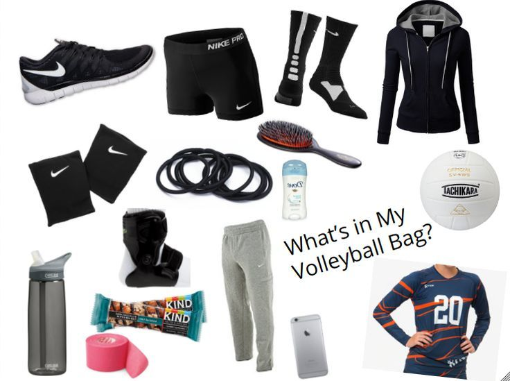 What to put in your volleyball bag, the essentials.