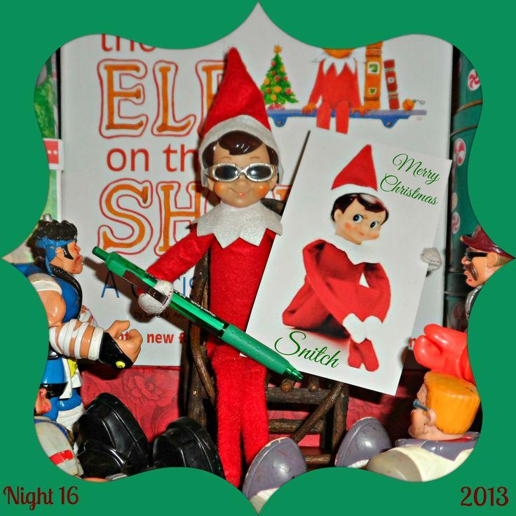elf on the shelf ideas   Elf Antics   Pinterest