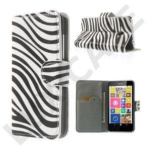 Moberg (Seepran Raidat) Nokia Lumia 630 / 635 Nahkakotelo