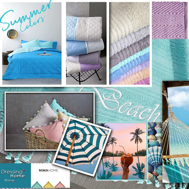 Summer Colors by Nima!! 😍👌👙🐚🍧🏝️☀️⛱️  #summercolors #summermood #nimahome #dressinghome #summersales2017