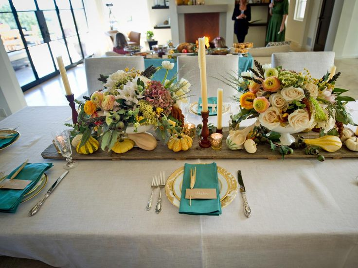 Thanksgiving Table Setting Ideas & 56 best Thanksgiving images on Pinterest   Harvest table decorations ...