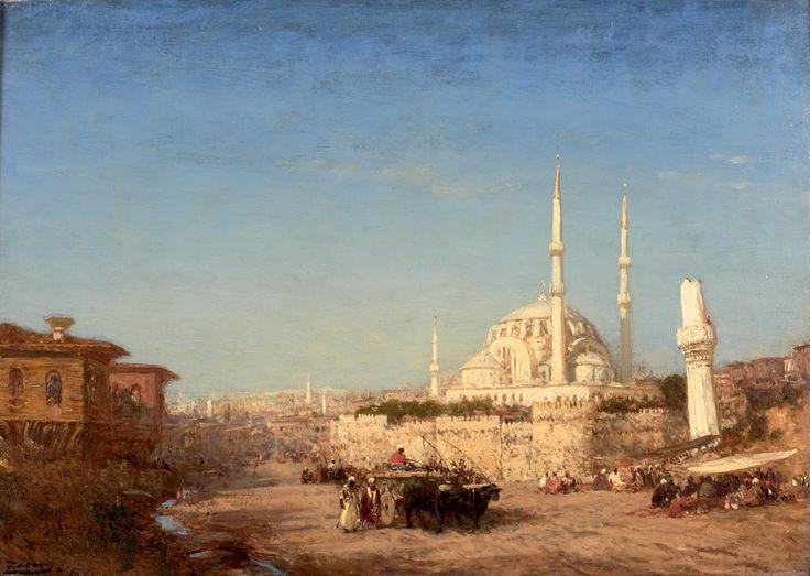 Istanbul by Felix Ziem