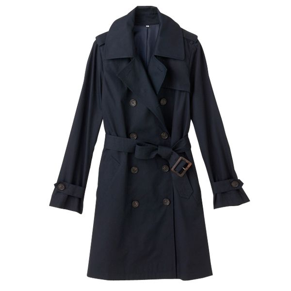 Double breasted trench coat | MUJI | £99