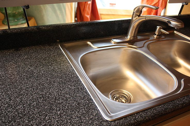 Banish Ugly Laminate Counters With One Easy Product