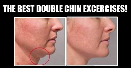"The Best Double Chin Exercises! - Yes, you read that right, I ""pin'ed"" a double chin ""workout"" - hey every body part is important!!  :)  lol"