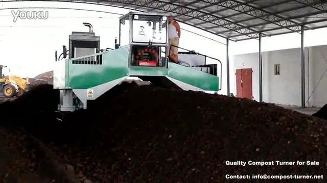 www.compost-turner.net   Full hydraulic compost turner, windrow turner machine: Largest Production Capacity: 2500-3000 m³/h. It is mainly…