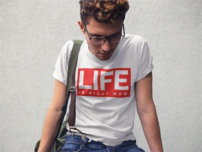 Life is... Men's Graphic T-Shirt