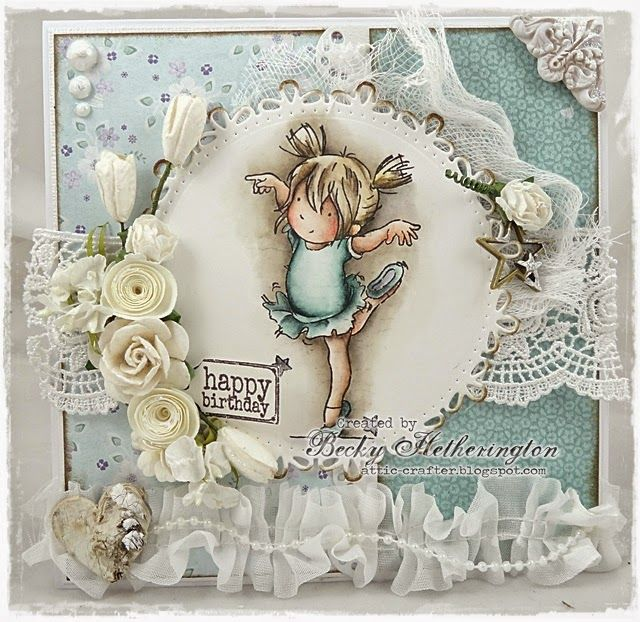 LOTV - Dainty Dancing with Snow Princess papers by DT Becky
