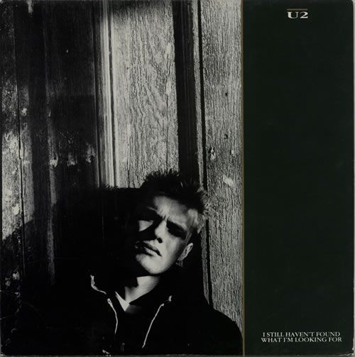 "For Sale - U2 I Still Haven't Found What I'm Looking For USA  12"" vinyl single (12 inch record / Maxi-single) - See this and 250,000 other rare & vintage vinyl records, singles, LPs & CDs at http://eil.com"
