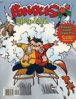 """""""Pondus Julehefte 2002 - (Pondus! Vi har fått besøk!)"""" av Frode Øverli"""