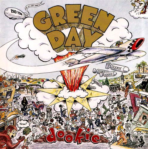 I like Green Day ok, but I can't stand this album cover. It just feels sophomoric to me, a fact which is only underscored by the album's title.