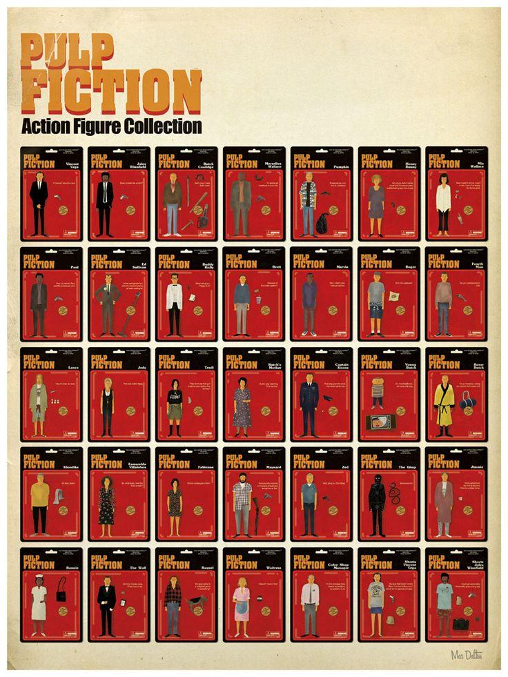 Gosta de Pulp Fiction? Ent�o vai curtir esse poster do Mas Dalton ...
