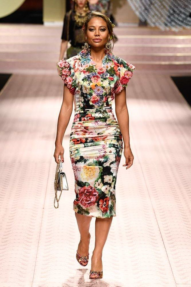 b89f251c49f See All the Big Names Who Just Walked Dolce   Gabbana s Spring Show