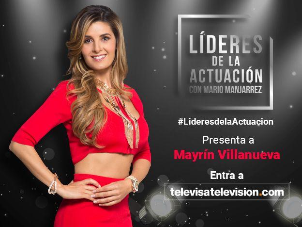 """No te pierdas en exclusiva la segunda parte de la entrevista que Mario Manjarrez realizó a la reconocida actriz Mayrín Villanuena en """"Líderes de la Actuación"""""""