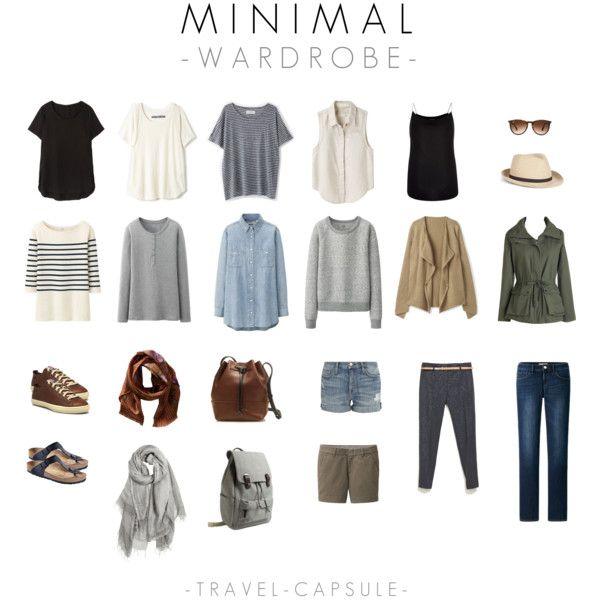 travel capsule - minimal wardrobe