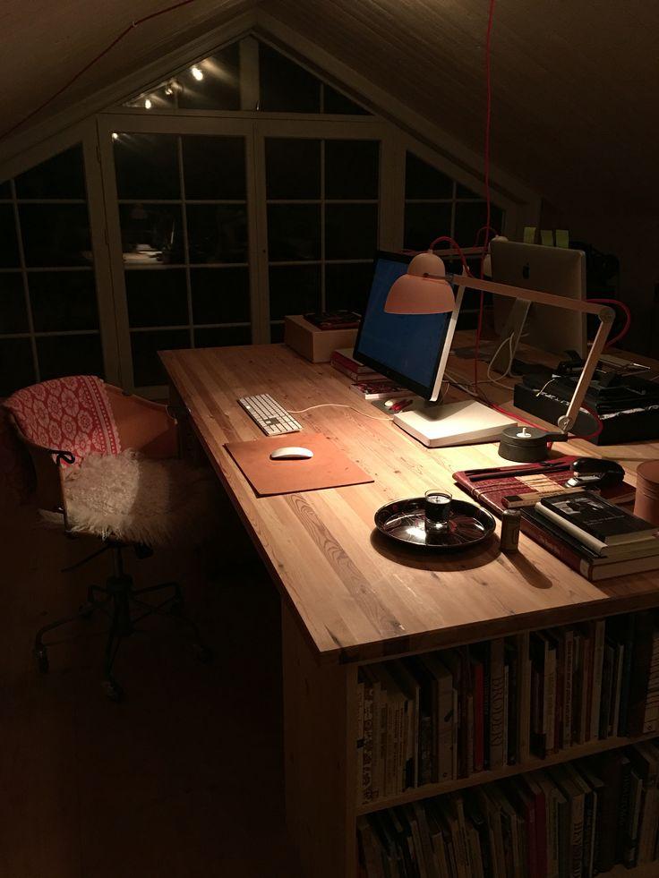 Workplace at home #interior #wiirkplace #hemmakontor