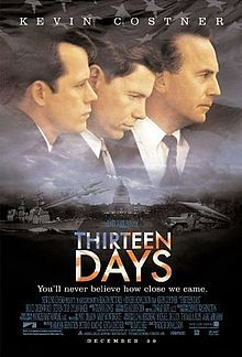 2000 - as Kenny O'Donnell ... about the Cuban missile crisis .. with Kevin Bacon, and Andy Garcia