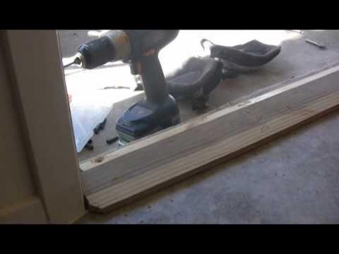 Repairing A Rotten Exterior Door Frame   YouTube