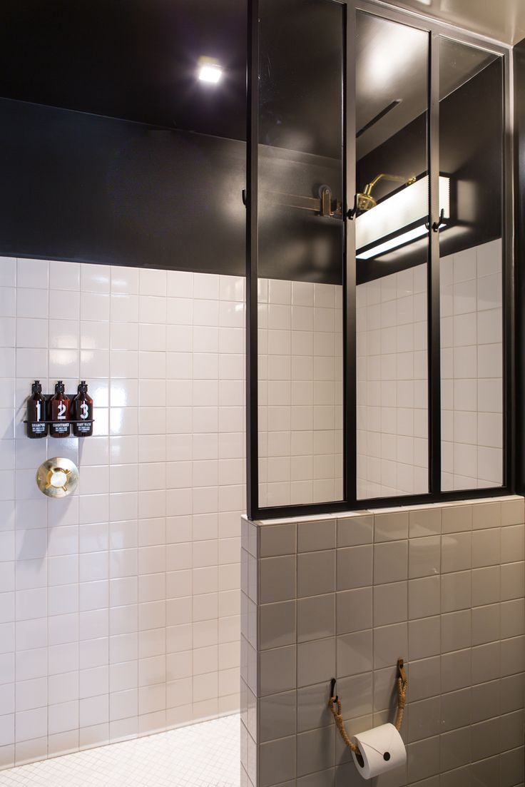 17 Best Images About Shower Styles Pony Wall Tile On Pinterest Ace Hotel Shower Tiles And