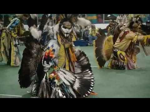 Though, Native Americans might disagree that this is religious, they certainly would agree that it is spiritual.  From Loon Lake Pow Wow mens dance competition.