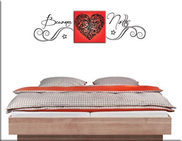 Oltre 25 fantastiche idee su decorazioni murali della camera da letto su pinterest arredamento - Adesivi murali camera da letto ...