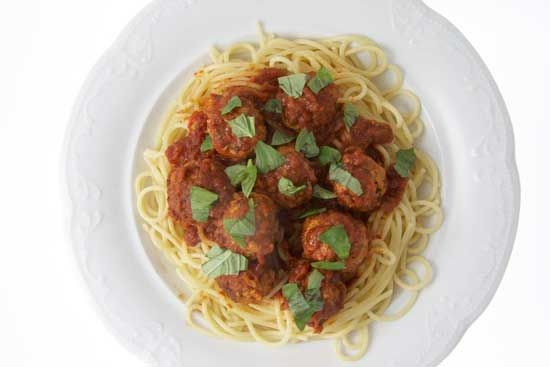 Julia's Turkey MeatballsFamily Dinners, Cooking Ideas, Turkey Meatballs, Food, Meatballs Recipe, Dinner Recipes, Meatballs Dinner, Families Dinner, Sunday Dinner