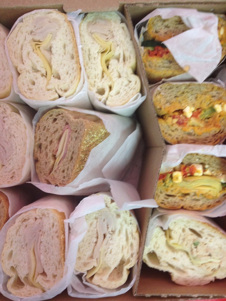 Half Sandwiches Are A Great Idea For Catering Business Lunch Events
