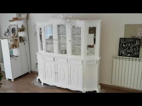 shabbychiclife: Video tutorial credenza prima dopo in stile shabby...