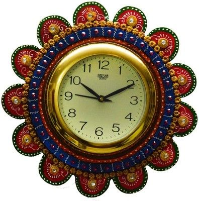 Gallery For > Paper Mache Wall Clock