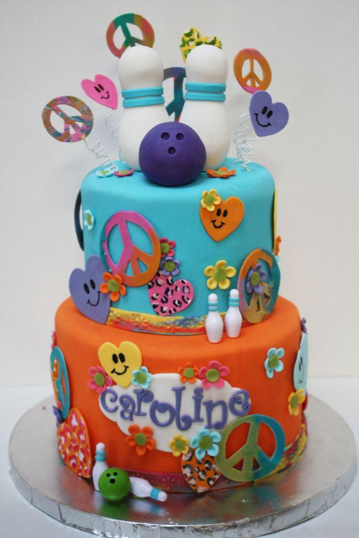 Birthday Bowling Cakes