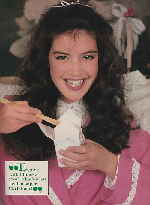 Phoebe Cates //  Wut // don't tell me you actually think this Phoebe