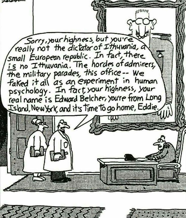 Far Side Comic Ithuania