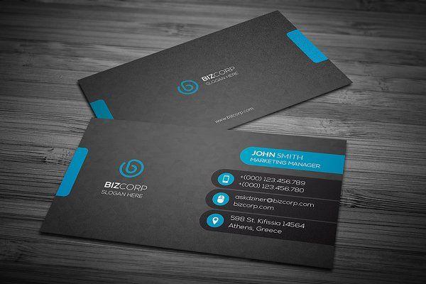 Corporate Business Card Corporate Business Card Business Cards Creative Business Cards Creative Templates