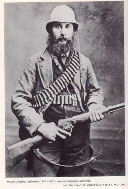 18th Century- A Dutch South African soldier. Historic Boer War. Ideal for Rennie…