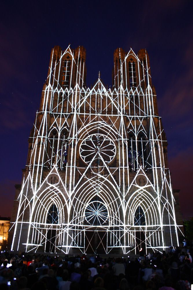 Mg 1420 Cathedrale Reims Architecture Gothique