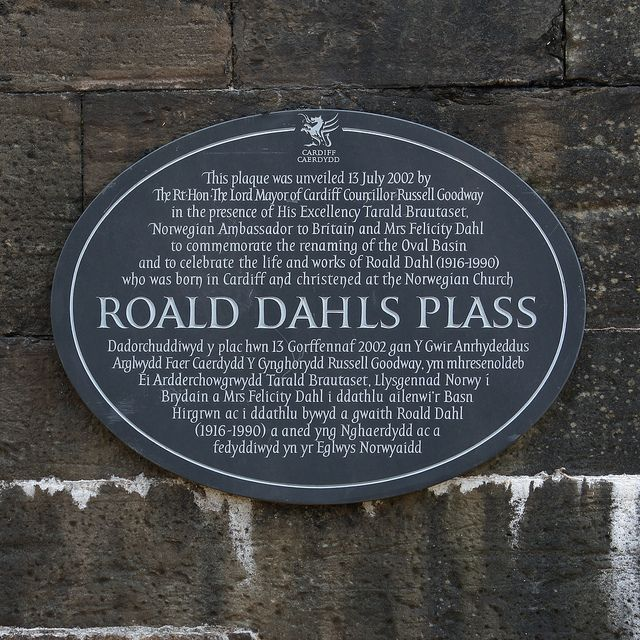 ROALD DAHLS PLASS - Cardiff, South Wales, UK | Flickr - Photo Sharing!