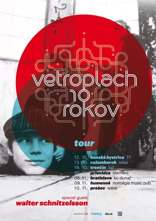 Vetroplach 10 rokov tour