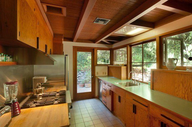 Best 56 Best Mid Century Modern Kitchen Images On Pinterest 640 x 480