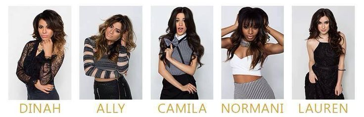 Fifth Harmony and their names | Fifth Harmony | Pinterest ...